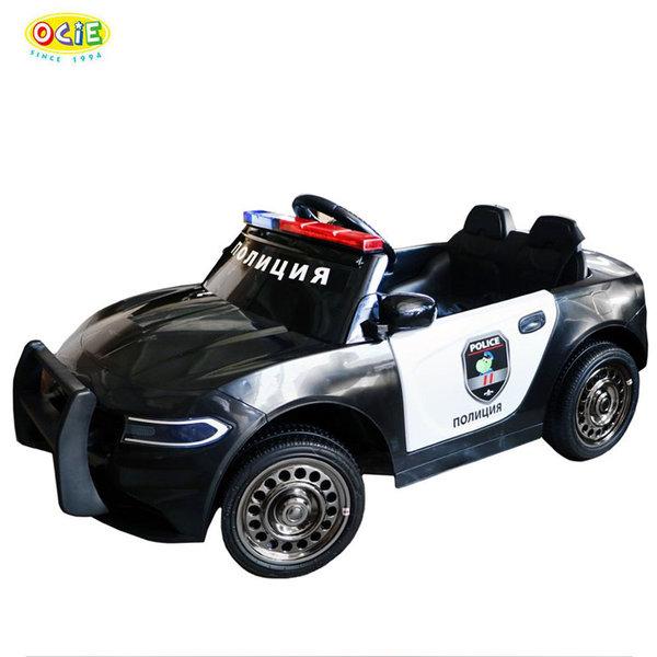 Ocie Акумулаторна кола Полиция черна 2Х6V 8750013-2R