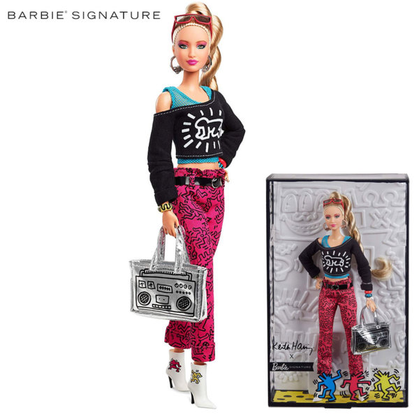 Barbie Signature Колекционерска кукла Барби Keith Haring FXD87