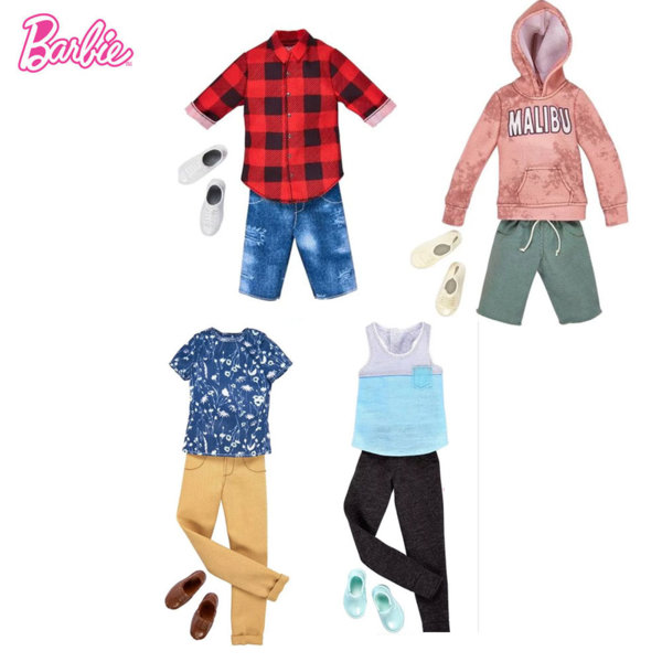 Barbie Модни дрехи за кукла Кен FYW83