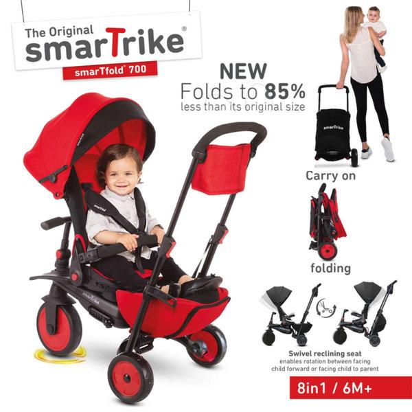 SmarTrike Сгъваема триколка 8в1 smarTfold STR7 5502202