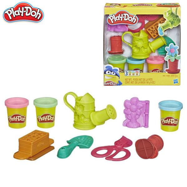 PlayDoh Детски комплект за моделиране Цветна градина E3564