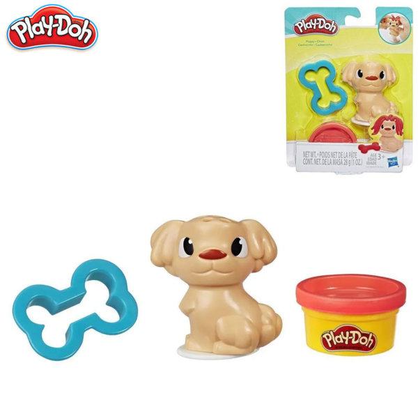 PlayDoh Детски комплект за моделиране Куче с кокал E2124