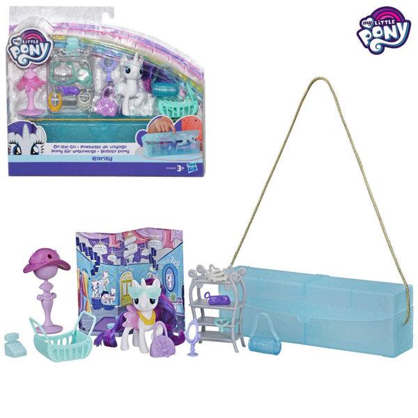 My Little Pony Моето малко Пони с чантичка и аксесоари Rarity E4967