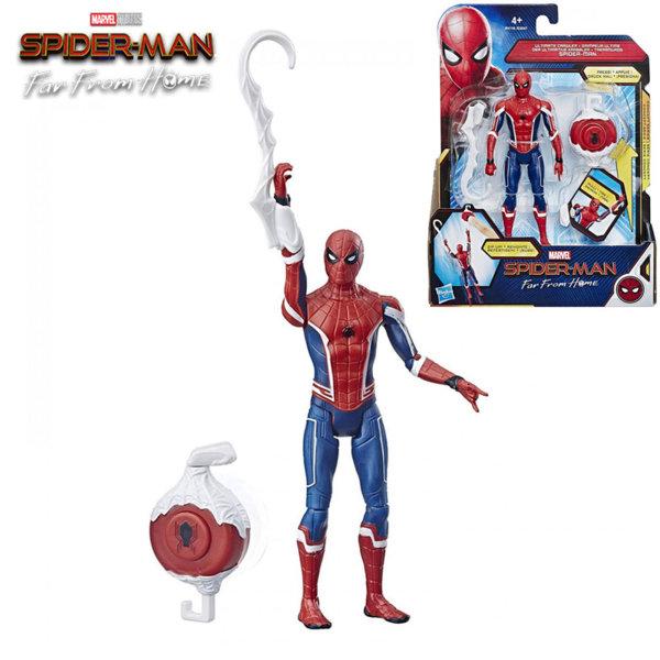 Hasbro Spider Man Екшън фигура 15см Спайдърмен с устройство за издърпване E3547