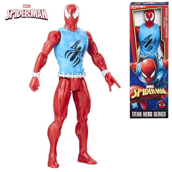Hasbro Spider Man Екшън фигура 30см Scarlet Spiderman E2324