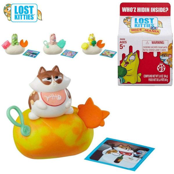 Hasbro Lost Kitties Случайна мини фигурка Мишле или Коте E6456