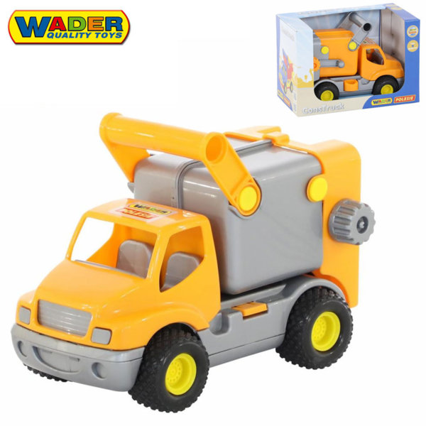 Wader Детски камион за боклук 29см 44846