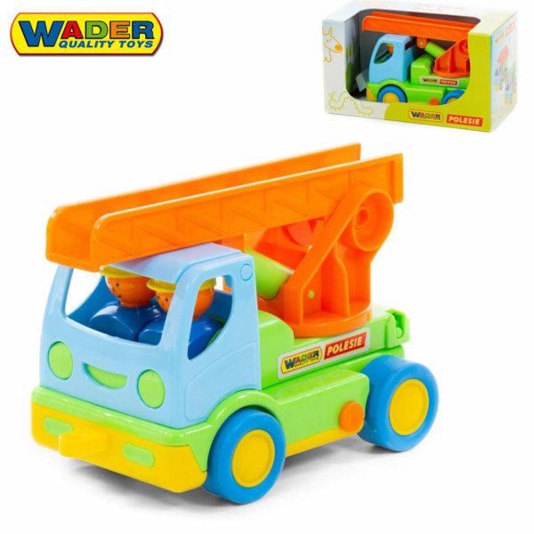 Wader Моят първи камион с аварийна стълба 24см 40152