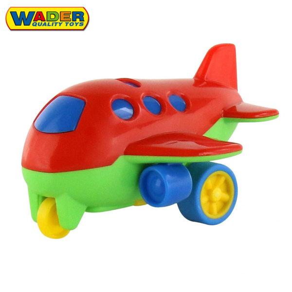 Wader Детско самолетче 11см Pull-back 52612