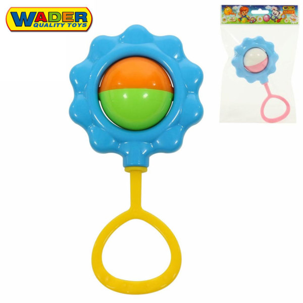 Wader Бебешка дрънкалка Цвете 45591