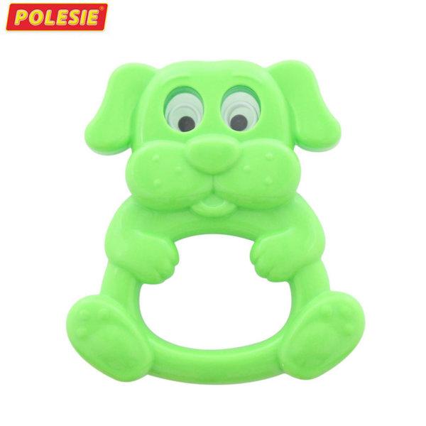 Polesie Бебешка дрънкалка-чесалка Куче 61829