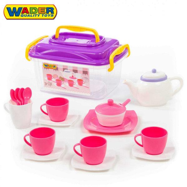 Wader Детски сервиз за чай в кутия 58980