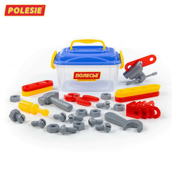 Polesie Комплект инструменти в куфарче 56610