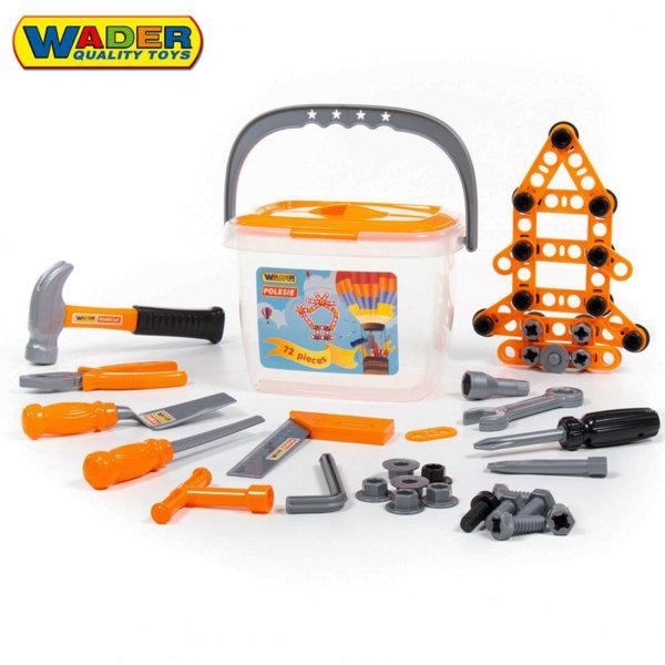 Wader Комплект инструменти в куфарче 47151
