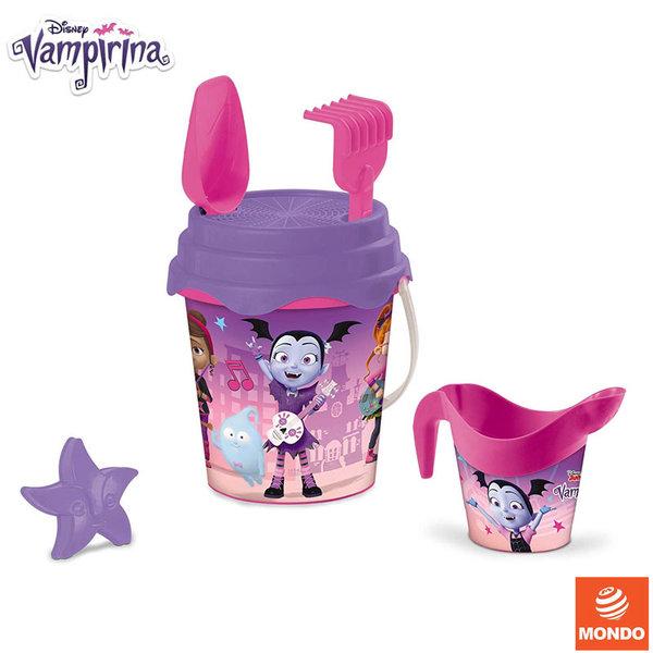 Mondo Disney Vampirina Детска кофа с лейка и формичка за пясък Вампирина 28489