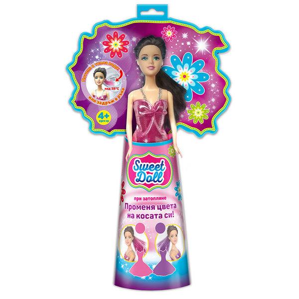 Sweet doll Кукла Каролина с променящ се цвят на косата 172121-5