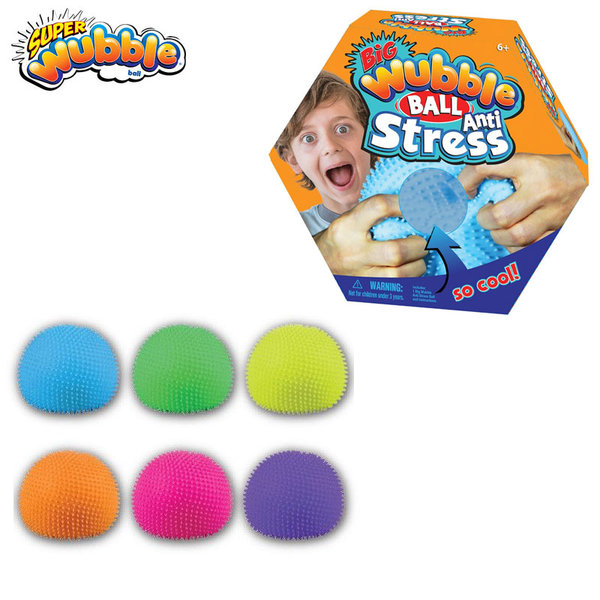 Wubble Ball Голяма антистрес топка Уъбъл 80720