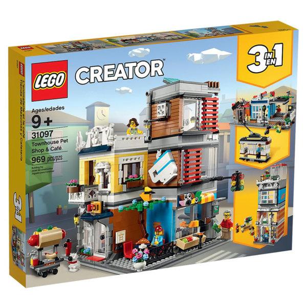 Lego 31097 Creator Градска постройка със Зоомагазин и кафене