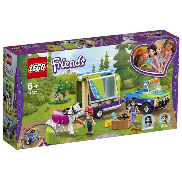 Lego 41371 Friends Ремаркето за кон на Mia