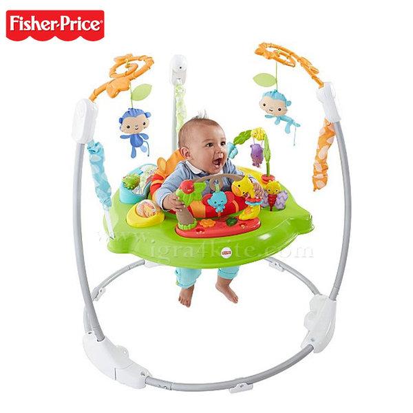 Fisher Price - Бебешко бънджи Тропическа гора chm91