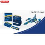 Herlitz Loop Plus Ергономична ученическа раница Jet 50020560