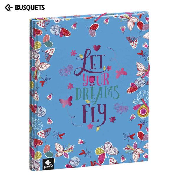 Busquets Dreams Папка кутия с ластик 15548
