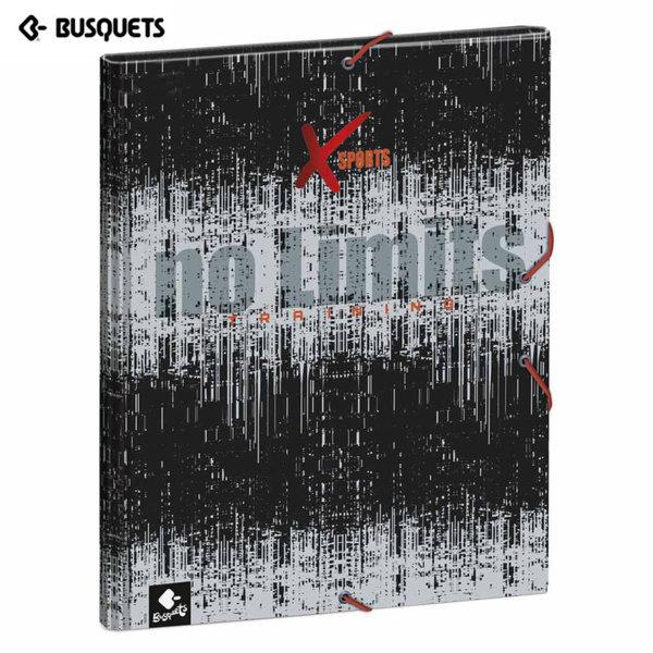 Busquets Xsports Папка кутия с ластик 15586