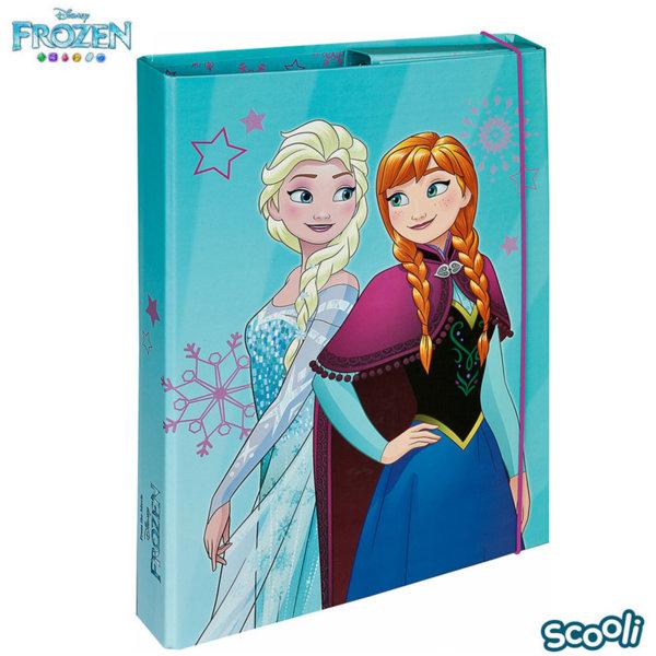 Scooli Disney Frozen Папка кутия с ластик Замръзналото кралство 27389