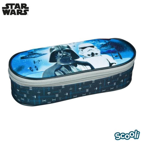 Scooli Star Wars Ученически несесер 1 цип Междузвездни войни 28184