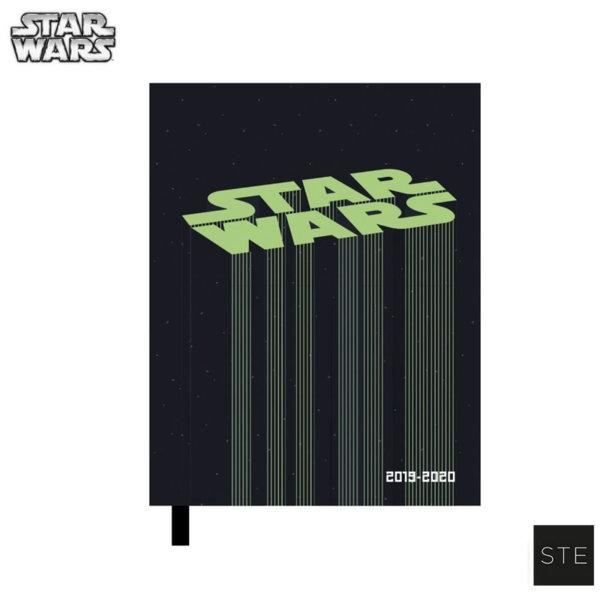 Star Wars Дневник тефтер 2019/2020 Междузвездни войни 06517