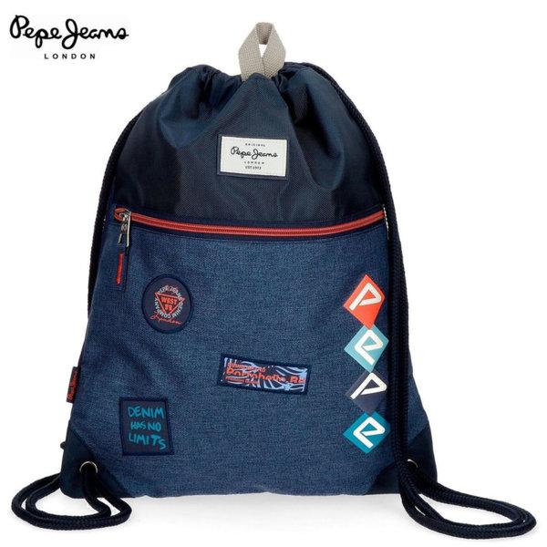 Pepe Jeans Paul Спортна торба с връзки 85040