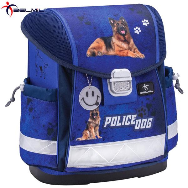 Belmil Ергономична ученическа раница CLASSY Police Dog 403-13-7