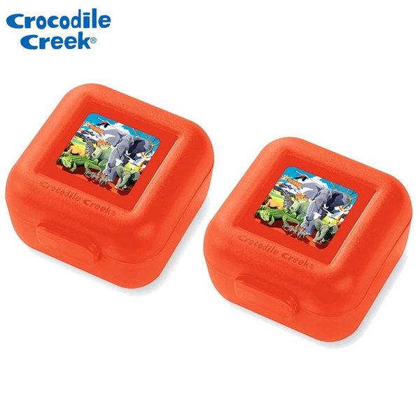 Crocodile Creek Комплект две малки кутии за храна Сафари 51954