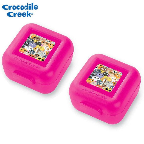 Crocodile Creek Комплект две малки кутии за храна Котки 51961