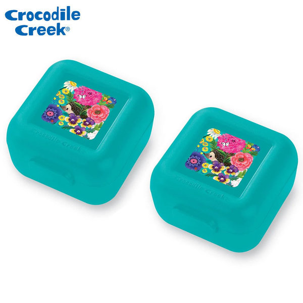 Crocodile Creek Комплект две малки кутии за храна Градина 51978