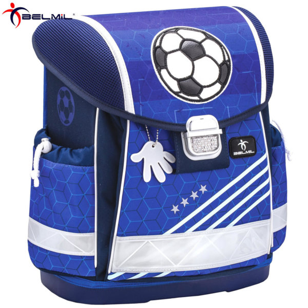 Belmil Ергономична ученическа раница CLASSY Soccer 403-13-16