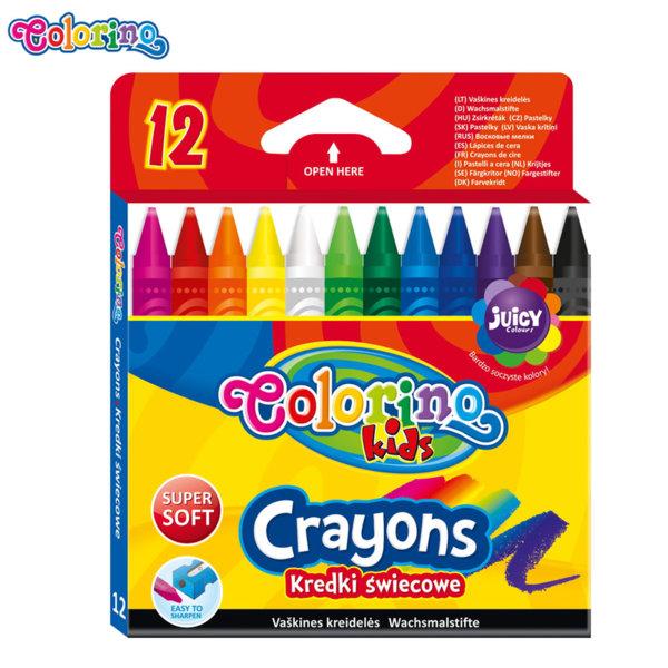 Colorino Kids Цветни пастели 12 цвята 13314