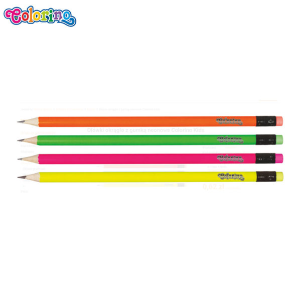 Colorino Kids Черен молив HB 65443