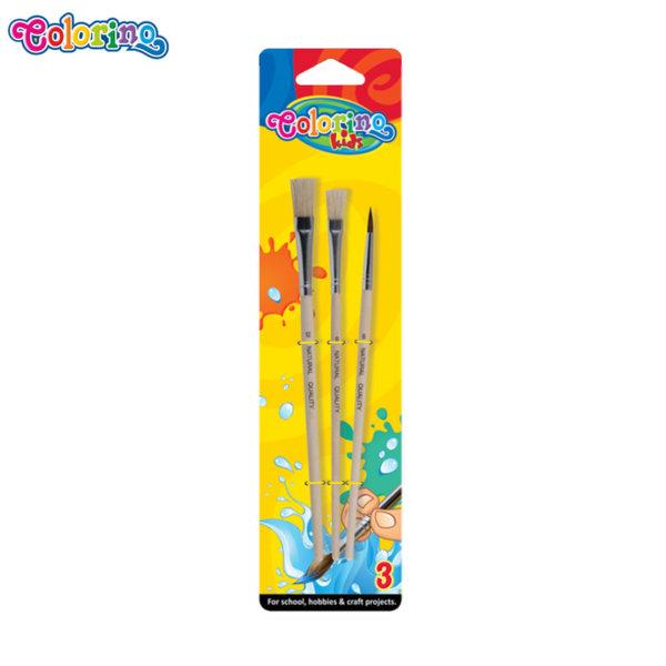 Colorino Kids Комплект четки за рисуване, 3 броя 13741