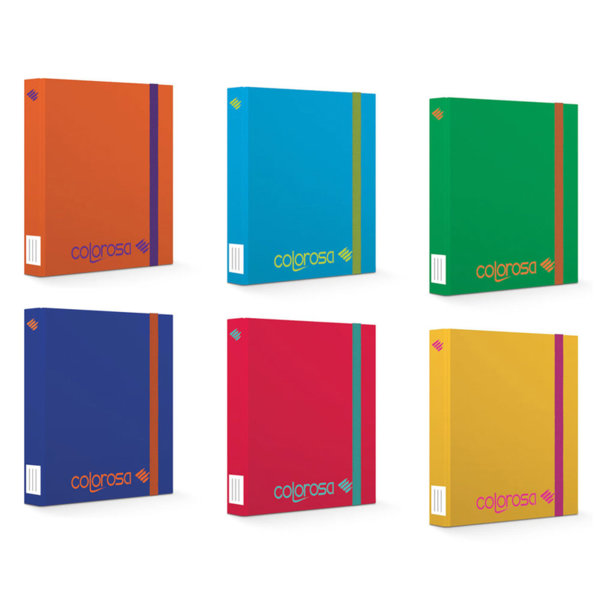 Colorosa Папка кутия с ластик 38456