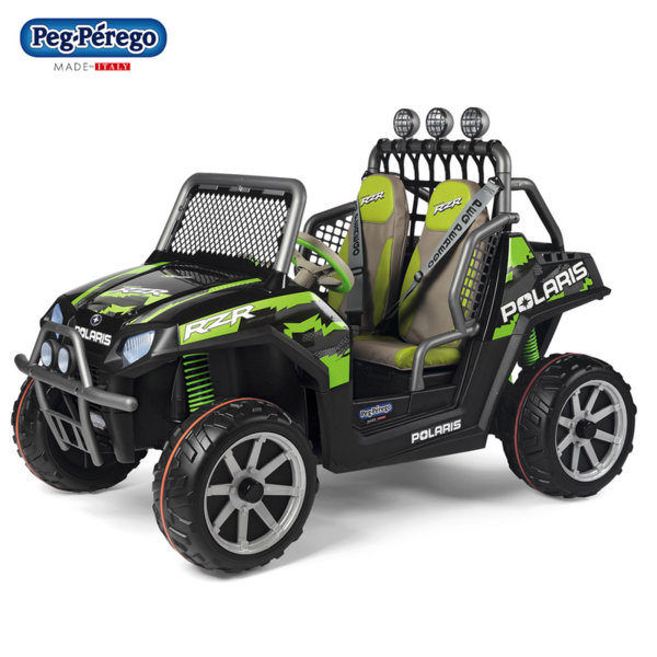 Peg Perego Джип с акумулатор 24V Polaris Ranger RZR Green Shadow