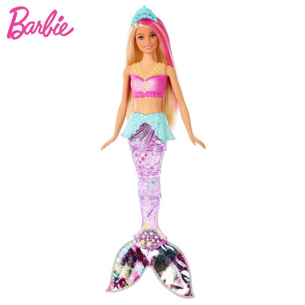 Barbie Dreamtopia Барби кукла русалка със светеща опашка GFL81