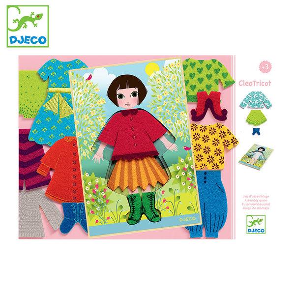Djeco Детска игра облeчи Клео Cleo tricot DJ01697
