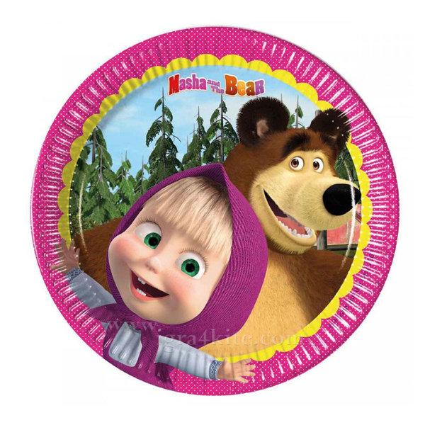 Masha and the Bear - Маша и Мечока Парти чинийки 86512