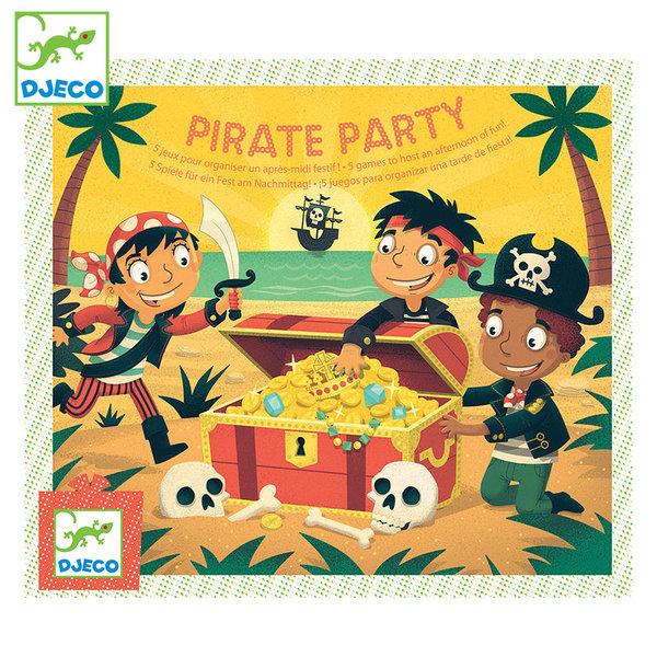 Djeco Детска игра за парти Pirate party DJ02095