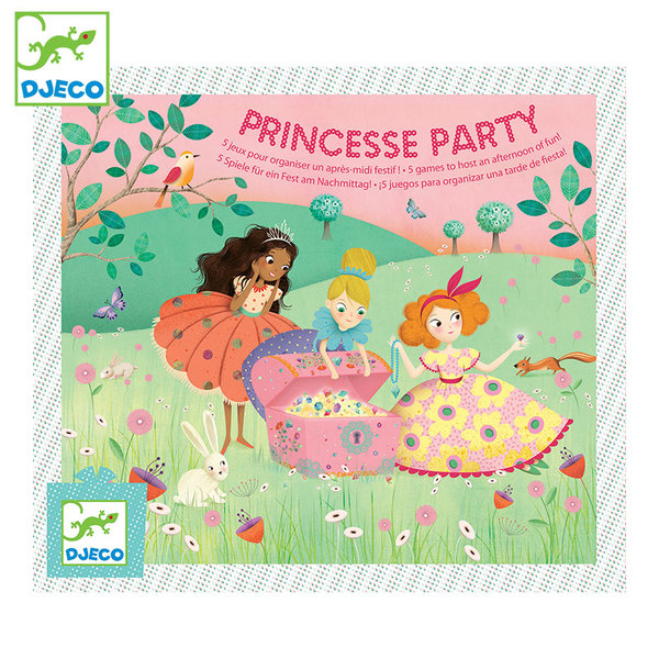 Djeco Детска игра за парти Princesse party DJ02096