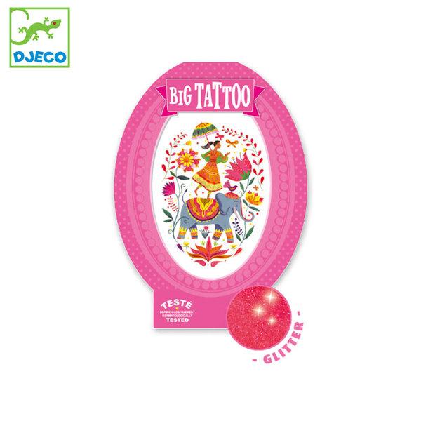 Djeco Детски татуировки Rose India DJ09602