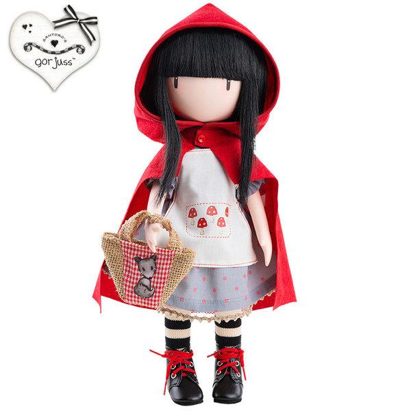 Gorjuss Кукла Little Red Riding Hood 32см 04917