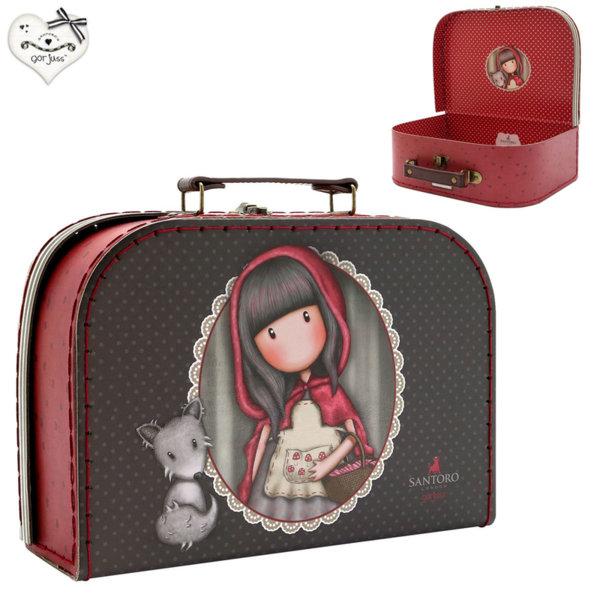 Gorjuss Little Red Riding Hood Декоративен куфар 26см Горджус 422GJ11