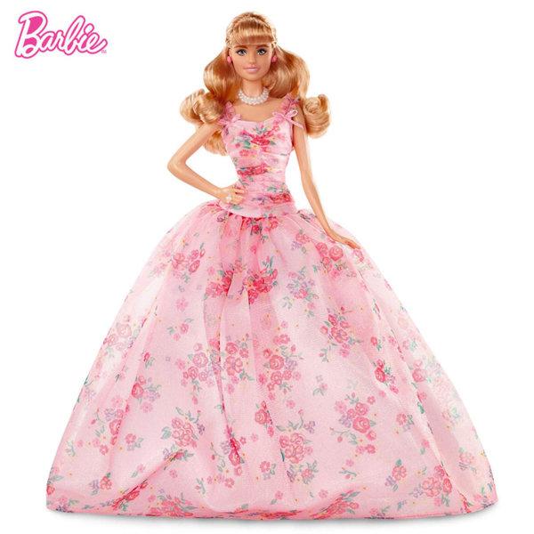 Barbie Birthday Wishes Колекционерска кукла Барби Рожден ден FXC76